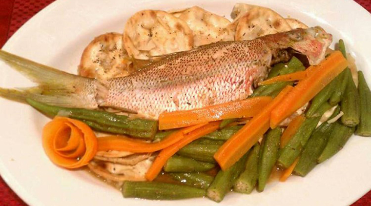 Simple Steamed Fish image